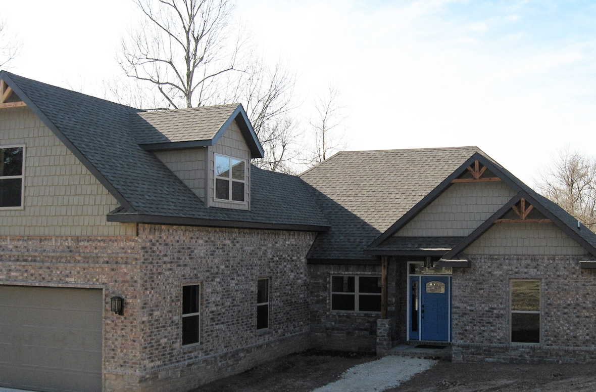 Gallery kevin gerlt construction Custom home builders arkansas
